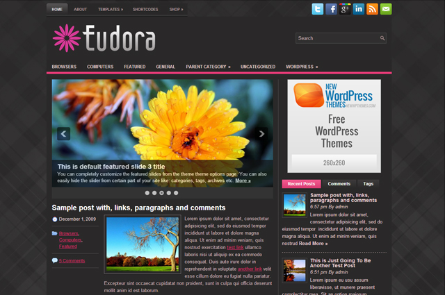 Free WordPress Themes For Your Business