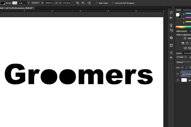 create text logos with shapes 5
