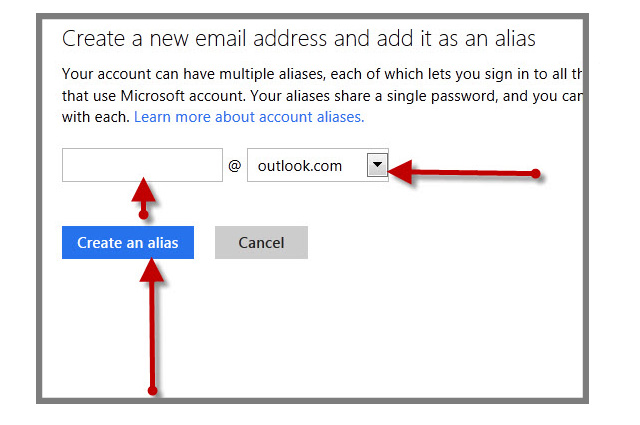 outlook email alias_4