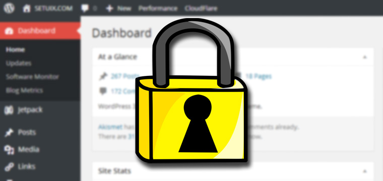 Control the Access to Your WordPress Dashboard