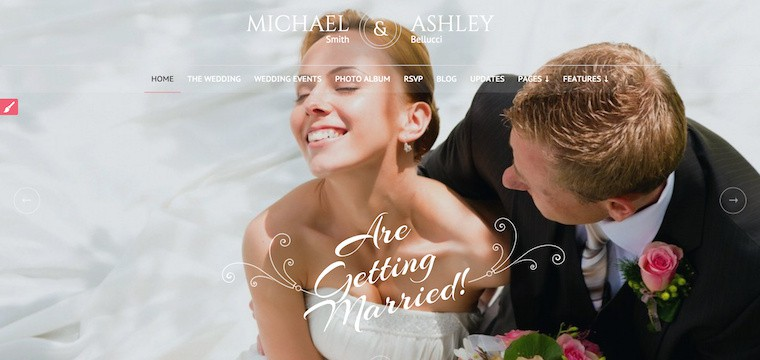 25 Premium Marriage WordPress Themes