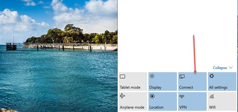 Notification Center in Windows 10
