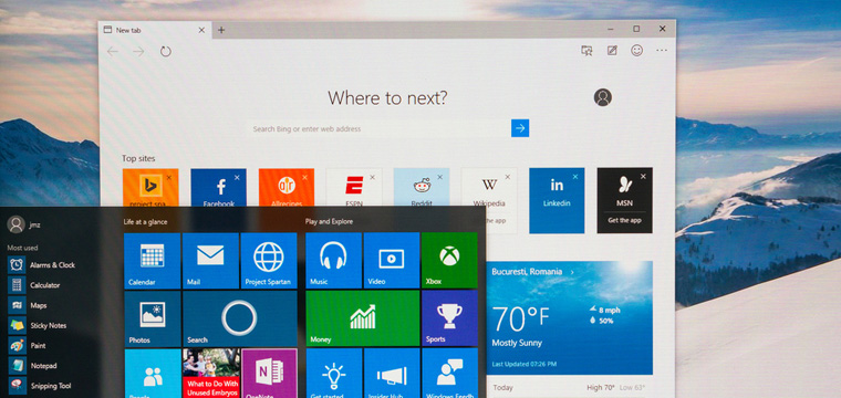 Microsoft Edge – Your New Prepackaged Companion
