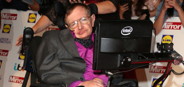 Intel Releases Speech Software of Stephen Hawking for Free
